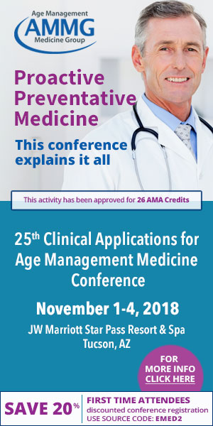 Age Management Medicine Group(AMMG)