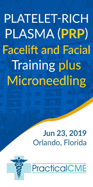 Platelet-Rich Plasma (PRP) Facelift and Facial Training plus Microneedling by PracticalCME Orlando J