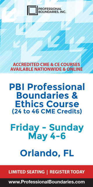 PBI(Professional Boundaries and Ethics Course)