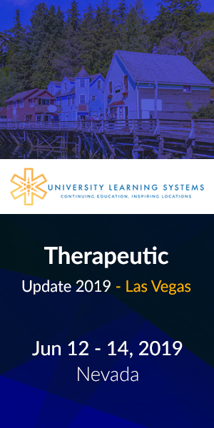 Therapeutic Update 2019 - Las Vegas
