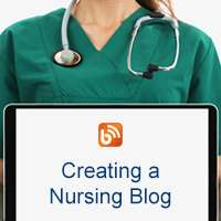 Creating a nursing blog