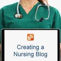 Creating a nursing blog