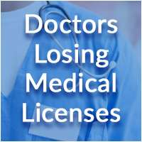 Doctors Losing Medical Licenses