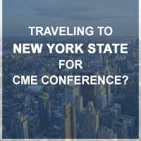Traveling to New York State for CME conference?