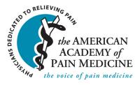 The American Academy of Pain Medicine (AAPM) 31st Annual Meeting
