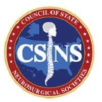 Council of State Neurosurgical Societies (CSNS) Biannual Meeting 2018