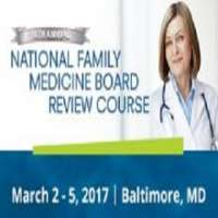 National Family Medicine Board Review (Mar 2 - 5, 2017)
