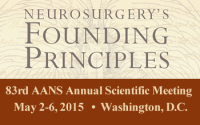 American Association Of Neurological Surgeons (AANS) 83rd Annual Scientific Meeting 2015