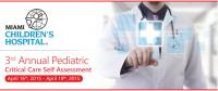 3rd Annual Pediatric Critical Care Self-Assessment
