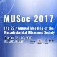 27th Annual Meeting of the Musculoskeletal Ultrasound Society (MUSoc)