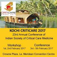 ISCCM CRITICARE 2017 - 23rd Annual Conference of Indian