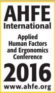 7th International Conference on Applied Human Factors and Ergonomics (AHFE) and Affiliated Conferences
