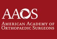 American Academy of Orthopaedic Surgeons (AAOS) Annual Meeting 2019