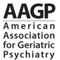 American Association for Geriatric Psychiatry (AAGP) 2019