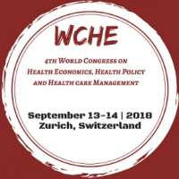 4th World Congress on Health Economics (WCHE), Health Policy and Health car