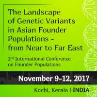 Conference: The Landscape of Genetic Variants in Asian Founder Populations