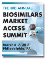 3rd Annual Biosimilars Market Access Summit