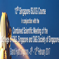 13th Singapore ISUOG Course in conjunction with the Combined Scientific Meeting of the College of O&G, Singapore and O&G Society of Singapore