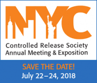 Controlled Release Society (CRS) Annual Meeting & Exposition 2018