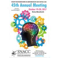Society for Neuroscience in Anesthesiology and Critical Care (SNACC) Annual
