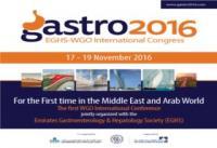 Gastro 2016 : Emirates Gastroenterology and Hepatology Society (EGHS) and World Gastroenterology Organisation (WGO) International Congress