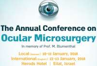 Annual Conference on Ocular Microsurgery for International 2018