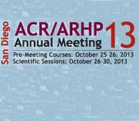 ACR 2013 - ARHP Annual Meeting