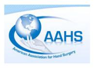 2014 AAHS American Association for Hand Surgery Annual Meeting