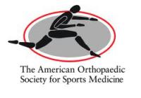American Orthopaedic Society for Sports Medicine(AOSSM) 2014 Annual Meeting