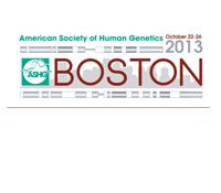 ASHG 2013 - American Society of Human Genetics 63rd Annual Meeting