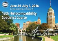 American Foundation for Donation and Transplantation (AFDT) - 18th Histocompatibility  Specialist Course 2016