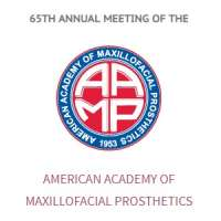 The 65th Annual Meeting of American Academy of Maxillofacial Prosthetics
