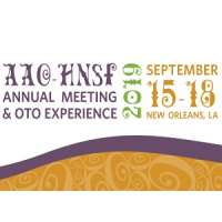 AAO-HNSF 2019 Annual Meeting & OTO Experience