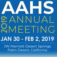 American Association for Hand Surgery (AAHS) 2019 Annual Meeting