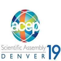 American College of Emergency Physicians (ACEP) Scientific Assembly 2019