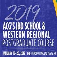 2019 ACG's IBD School & Western Regional Postgraduate Course