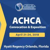 52nd Annual Convocation & Exposition by ACHCA