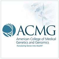 2019 American College of Medical Genetics and Genomics (ACMG) Annual Clinical Genetics Meeting