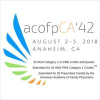 American College of Osteopathic Family Physicians of California (acofpCA'S)
