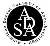American Dental Society of Anesthesiology (ADSA) Assistant Course 2019 - Las Vegas