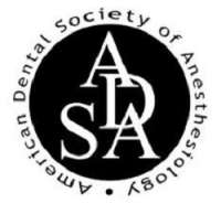 American Dental Society of Anesthesiology (ADSA) General Anesthesia & Deep Sedation 2019