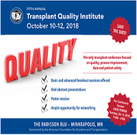 Fifth Annual Transplant Quality Institute