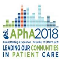 American Pharmacists Association (APHA) Annual Meeting and Exposition 2018