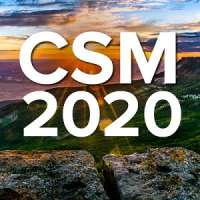 Combined Sections Meeting (CSM) 2020