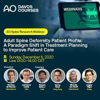 AO Spine Research Webinar - ASD Patient Profile: A Paradigm Shift in Treatm