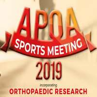 Asia Pacific Orthopaedic Association (APOA) Sports Meeting 2019 incorporati