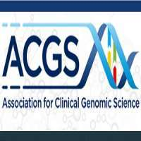 Association for Clinical Genetic Science (ACGS) conference 2018