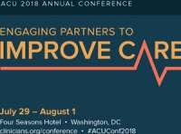 Association of Clinicians for the Underserved (ACU) 2018 Annual Conference