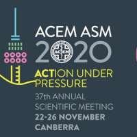 Australasian College for Emergency Medicine (ACEM) 37th Annual Scientific M
