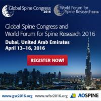 Global Spine Congress and World Forum for Spine Research 2016